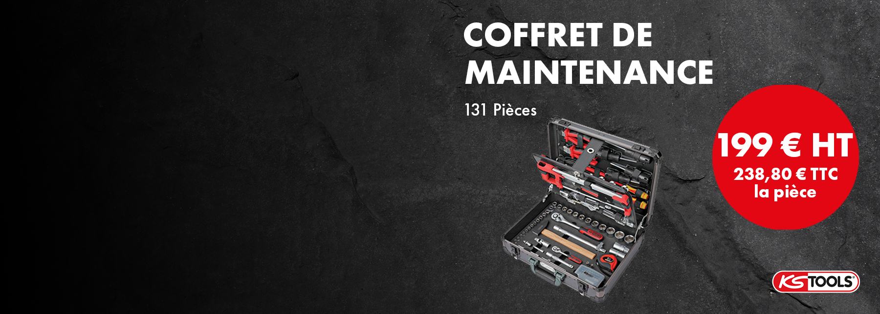 Pomotion coffret de maintenance KS TOOLS